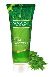 Vaadi Herbals Anti-Acne Neem Face Wash, with Tea Tree Extract, 60ml