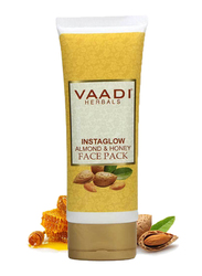 Vaadi Herbals InstaGlow Almond & Honey Face Pack, 120gm