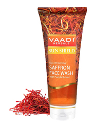Vaadi Herbals Skin Whitening Saffron Face Wash, with Sandal Extract, 60ml
