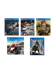 5-in-1 Action Pack Video Games, Bundle 4 for PlayStation 4 (PS4)
