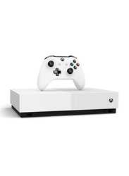 Microsoft Xbox One S Console, 1TB, with 1 Controller and Ultra 4K, White