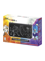Nintendo Solgaleo Lunala Black Edition Nintendo 3DS XL Console, Black