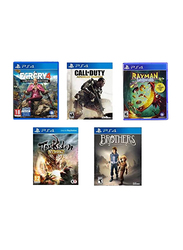 5-in-1 Action Pack Video Games, Bundle 2 for PlayStation 4 (PS4)