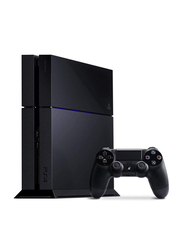 Sony PlayStation 4 Console, 500GB, with 1 Wireless Controller, Black
