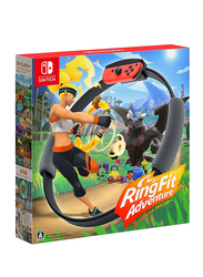 Ring Fit Adventure Video Game for Nintendo Switch by Nintendo, Black