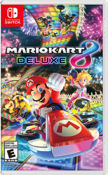 Mario Kart 8 Deluxe Video Game for Nintendo Switch by Nintendo