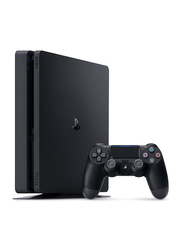 Sony PlayStation 4 Slim Console, 1TB, with Controller, Black