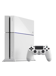Sony Standard Edition PlayStation 4 Console, 500GB, with 1 Controller, White
