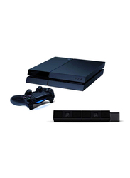Sony PlayStation 4 Console, 500GB, with 1 Wireless Controller and PlayStation Camera, Black