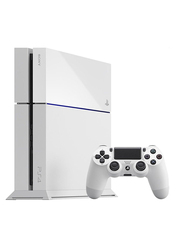 Sony Standard Edition PlayStation 4 Console, 1TB, with 1 Controller, White