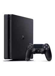 Sony PlayStation 4 Slim Console, 1TB, with 1 Wireless Controller, Black