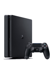 Sony PlayStation 4 Console, 500GB, with 1 Controller and 3 Games (Uncharted 4, Horizon Zero Dawn and GT Sport) and 3 Month PSN Subscription, Black