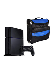 Sony PlayStation 4 Console, 500GB (NTSC), with 1 Wireless Controller and Stylish PS4 Bag, Black