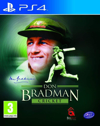 Don Bradman Cricket Entertainment 2015 Video Game for PlayStation 4 (PS4) by Tru Blu