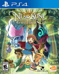 Ni No Kuni: Wrath of the White Witch Remastered Video Game for PlayStation 4 (PS4) by Bandai Namco Entertainment
