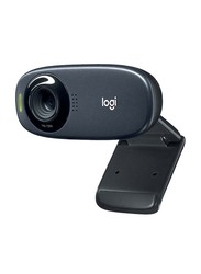 Logitech C310 P HD Webcam, Black