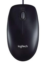 Logitech M90 USB Optical Mouse, Black