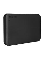 """Toshiba 2TB HDD 2.5"""" Canvio Ready External Portable Hard Drive, USB 3.0, HDTP220EK3CA, Black"""
