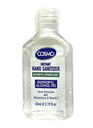 Cosmo Advanced Instant Antiseptic and Disinfectant Hand Sanitizer, 65ml