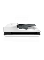 HP ScanJet Pro 2500F1 Flatbed Scanner with ADF, 1200DPI, White
