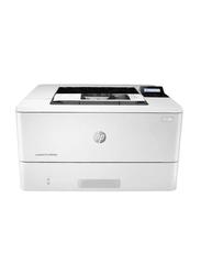 HP LaserJet Pro M404N Mono Black and White Laser Printer, White