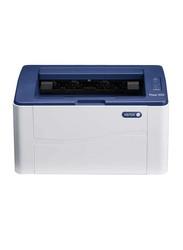 Xerox Phaser 3020 Laser Jet All-in-One Printer, White/Blue