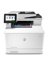 HP LaserJet Pro MFP M479FDN All-in-One-Printer, White