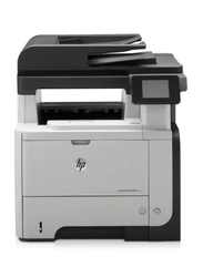 HP LaserJet Pro MFP M521DN Mono Black and White Laser Multifunction Printer, Black/White
