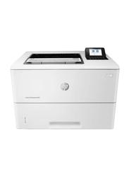 HP LaserJet M507DNMono Black and White Laser Printer, White