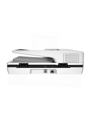 HP ScanJet Pro 3500F1 Flatbed Scanner with ADF, 1200DPI, White