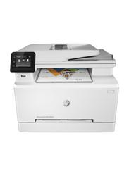 HP LaserJet Pro MFP M283FDW Color Laser All-in-One Printer, White