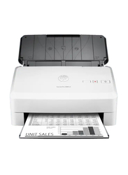HP ScanJet Pro 3000S3 Sheet Feed Scanner, 600DPI, White