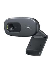 Logitech C270 P HD Webcam, Black