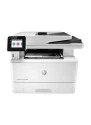 HP LaserJet Pro MFP M428FDN Mono Black and White Laser Multifunction Printer, White