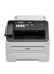 Brother FAX-2840 Laser Fax Machine, Grey