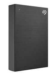 Seagate 4TB HDD One Touch External Portable Hard Drive, USB 3.2, STKC4000400, Black