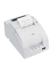 Epson TM U220 B USB Dot Matrix Receipt Printer, White