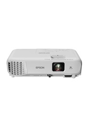 EPSON Eb X05 3LCD Projector, 3300 Lumens, XGA, White