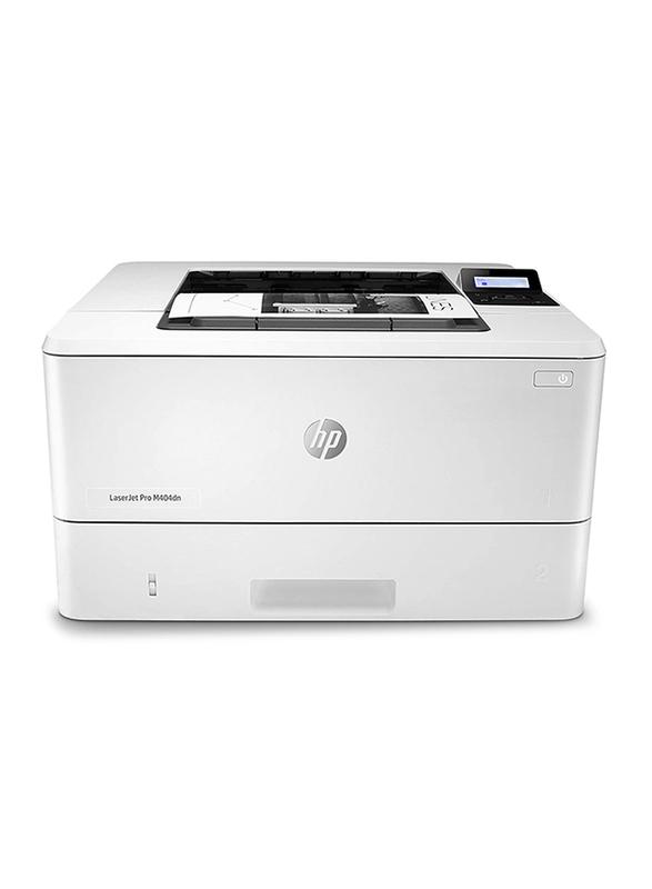 HP LaserJet Pro M404DN Laser Printer, White