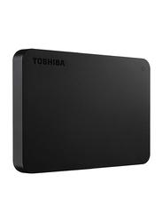 Toshiba 1TB HDD Canvio Basics External Portable Hard Drive, USB 3.2, HDTB410EK3AA, Black