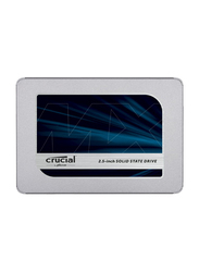 Crucial MX500 3D NAND SATA 2.5-inch 7mm Internal SSD for PC/Laptop, 500GB, Silver