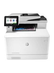 HP LaserJet Pro MFP M479FNW Color Laser All-in-One Printer, White