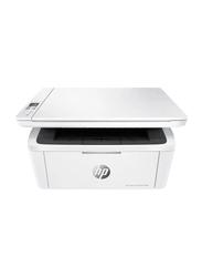 HP LaserJet Pro M28W Mono Black and White Laser Multifunction Printer, White