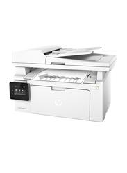 Hp Laser Jet Pro M130fw MFP Black and White Mono All In One Printer, White