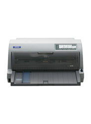 Epson LQ690 Dot Matrix Printer, Grey