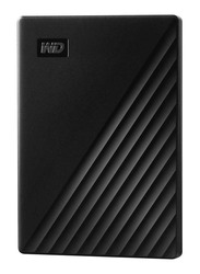Western Digital 1TB HDD My Passport External Portable Hard Drive, USB 3.0, WDBYVG0010BBK-WESN, Black