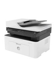 HP LaserJet MFP M137FNW Mono Black and White Laser Multifunction Printer, White