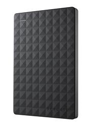 "Seagate 1TB HDD Expansion 2.5"" External Portable Hard Drive, USB 3.0, STEA1000400, Black"