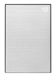 Seagate 4TB HDD Backup Plus External Portable Hard Drive, USB 3.0, STHP4000401, Silver/Black