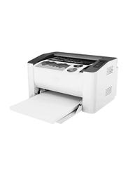HP LaserJet 107W Mono Black and White Laser Printer, White